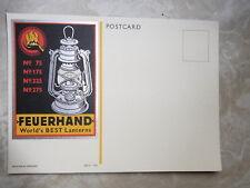 AK Feuerhand Laternen, Petroleumlampe - Postkarte aus alten Laden Bestand