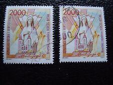 BOSNIE-HERZEGOVINE (herceg bosna) - timbre yt n° 1 x2 obl (A33) stamp (T)