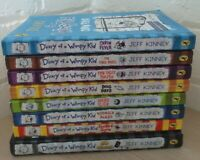 Diary of a Wimpy kid books Bundle x 8 hardback  and paperback