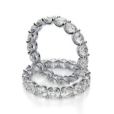2.70ct Natural Round U-Prong Eternity Diamond Wedding Band