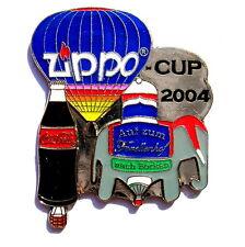 "ZIPPO BALLON ""SPECIAL SHAPE"" Pin / Pins - CUP BORKEN mit COCA COLA 2004 [3724]"