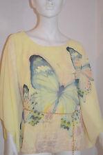 Bluse Butterfly Shirt Tunika Größe 36/38/40