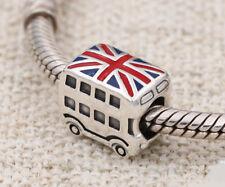 Genuine Pandora Silver London Bus Charm Bead 791049ER