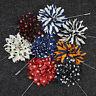 Newly Lapel Flower Daisy Handmade Boutonniere Stick Brooch Pin Men's Accessories