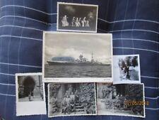 Fotos Soldaten im 2.WK/Schlachtschiff