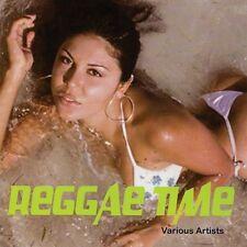 REGGAE TIME - SASZ, BRADLEY BROWN, BLACK LION, MARCIA BALL -  CD NEU