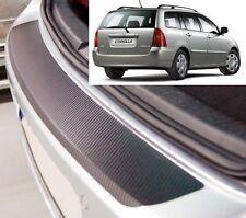 Toyota Corolla (E12) Estate - Carbon Style rear Bumper Protector