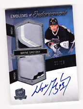 2012-13 THE CUP: AUTO-PATCHES,WAYNE GRETZKY,#11/15,NO EE-WG,LOS ANGELES KINGS.