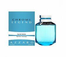 Azzaro Chrome Legend EDT 125ml Eau De Toilette for Men  New&Sealed