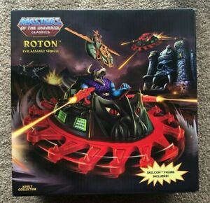 MOTUC Masters Of The Universe Classics ROTON & SKELCON MIB Matty Collector - NEW
