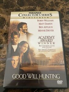 Good Will Hunting (DVD, 1998, Collectors Series) Like New!