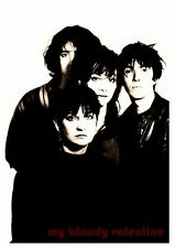 My Bloody Valentine LARGE POSTER **AMAZING BAND PICTURE**  Kevin Shields photo