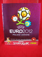 Panini Euro 2012 Leeralbum Schweiz Platinum Edition = EM 12 Album Switzerland
