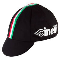 CINELLI BLACK GOLD Team Cycling Cap NEW Bike Ride Hat Free Shipping !!