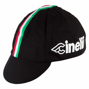 Pace Sportswear Cinelli Cycling Cap: Black
