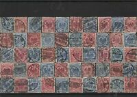 Germany early used Reichspost Stamps with good cancels Ref 14261