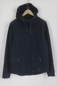 HOLLISTER Men's LARGE Fleece Polyester Hooded Jumper / Hoodie 27351_JS