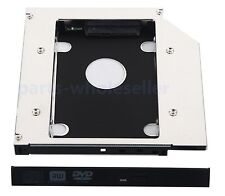 2nd Hard Drive HDD SSD SATA Optical Bay Caddy Adapter swap UJ265 UJ-265 Slim DVD