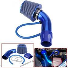 "Blue Air Intake Kit Pipe Diameter 3"" Cold Air Intake Filter+ Clamp+ Accessories"