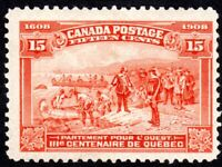 Canada Quebec 300th Anniversary Issue - Scott 102 - MH F/VF