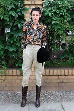 Pikeur Damen Reithose pants Hose kariert checked 80er True VINTAGE 80s women