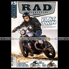 RAD MOTORCYCLES N°5-b DRAGSTER TRIUMPH TURBO BMW JPR KRAUSER YAMAHA XS 650 1100