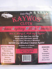 2 Kaywos Cleaning Cloths - New - Eco Friendly - Reusable - Streek Free