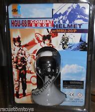 1/6 Scale Dragon HGU-68/P Combat Edge US Military Pilot Helmet MOC