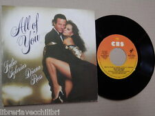 JULIO IGLESIAS DIANA ROSS All of youThe last time CBD Disco vinile 45 giri music