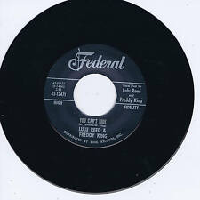 Lulu REED & FREDDY KING-Vous ne pouvez pas masquer (Fabulous Early 60 S New Breed r&b Romp)