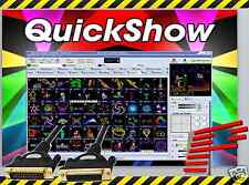 Pangolin QuickShow FB3 Laser Show Designer Software + FREE 10m Black ILDA Cable