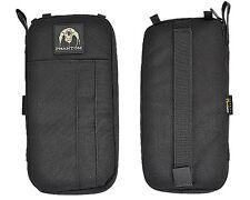 Phantom 1000D Multi-functional Wallet Card Pouch w/Zipper Black