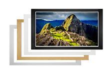 Flat Modern Picture Frame Photo Frames Poster Frames Wood Frame Many Sizes