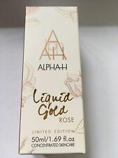 ALPHA H ROSE LIQUID GOLD WITH GLYCOLIC TRAVEL SIZE 50ml BNWB