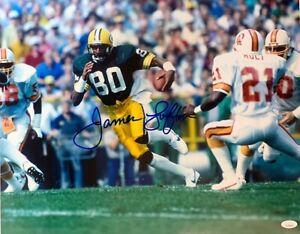 Packers Hall of Famer JAMES LOFTON Signed 16x20 Photo #9 AUTO - JSA