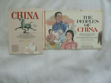 TWO (2) NATIONAL GEOGRAPHIC MAPS on CHINA  and The Peoples of China