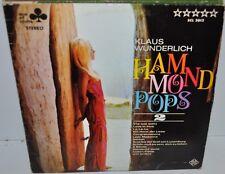 KLAUS WUNDERLICH: Hammond Pops 2 LP Record Cheesecake Cover