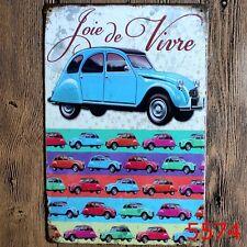 Metal Tin Sign classic car  Decor Bar Pub Home Vintage Retro Poster Cafe ART