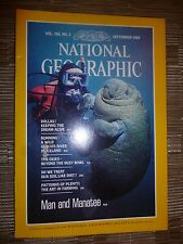 National Geographic- MAN and MANATEE - September 1984