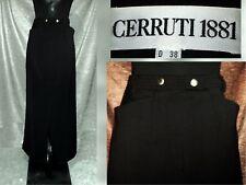 Edler Maxi Rock von  Cerruti 1881, sehr dunkles Grau, Schurwolle warm haltend*38