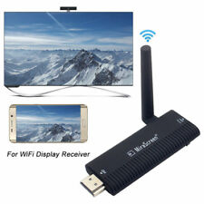 1080P Wireless Wifi MiraScreen Dongle HDMI AV Cable Video to TV Receiver Adapter