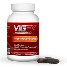VigFX Male Virility Enhancement Enlargement Extended Release Liquid Gel Caps