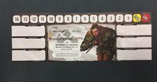 DRAGONFIRE WOOD ELF RANGER CHARACTER CARD PROMO UNUSED