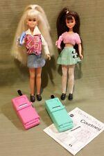 Phone Fun Skipper #14312 & Courtney #14314 Dolls Barbie 1995, Mint NO BOX