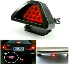 New Universal F1 Style 12 LED Red Rear Tail Third Brake Stop Safety Lamp Light