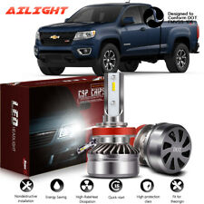 2 Sides CSP LED Headlight Low Beam H8 H9 H11 White Bulbs for CHEVROLET COLORADO