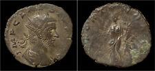 Claudius II Gothicus billon antoninianus Fortuna standing left