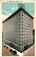 Vintage Postcard - Un-Posted Hotel Statler Building Buffalo New York NY #4525