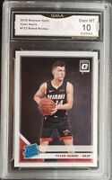 2019-2020 Donruss Optic Tyler Herro Rated Rookie Card #172 GMA 10 GEM MINT PSA?