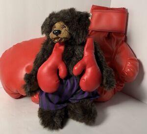 Boxing Gloves A&A Kimbearly Bears Boys Room Man Cave Decor